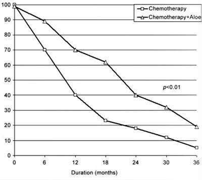 tempi di sopravvienza ai tumori aloe chemioterapia