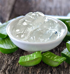 gel aloe vera acne