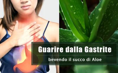 Gastrite: come guarire con l'Aloe